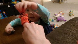 The $2 finger puppets were a big hit.